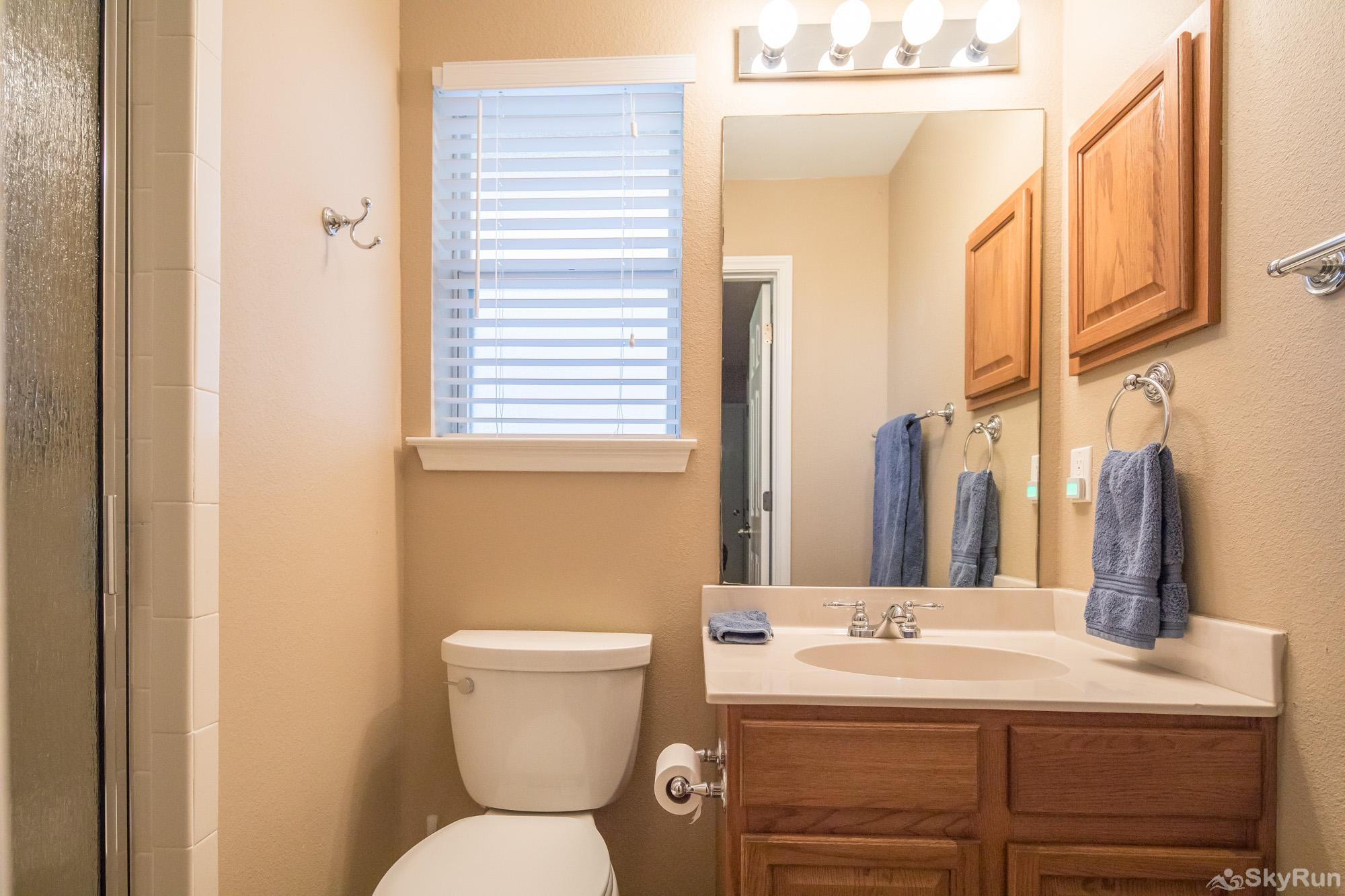 WATERWHEEL ESCAPE CONDO Second Full Bathroom with Shower/Tub Combo