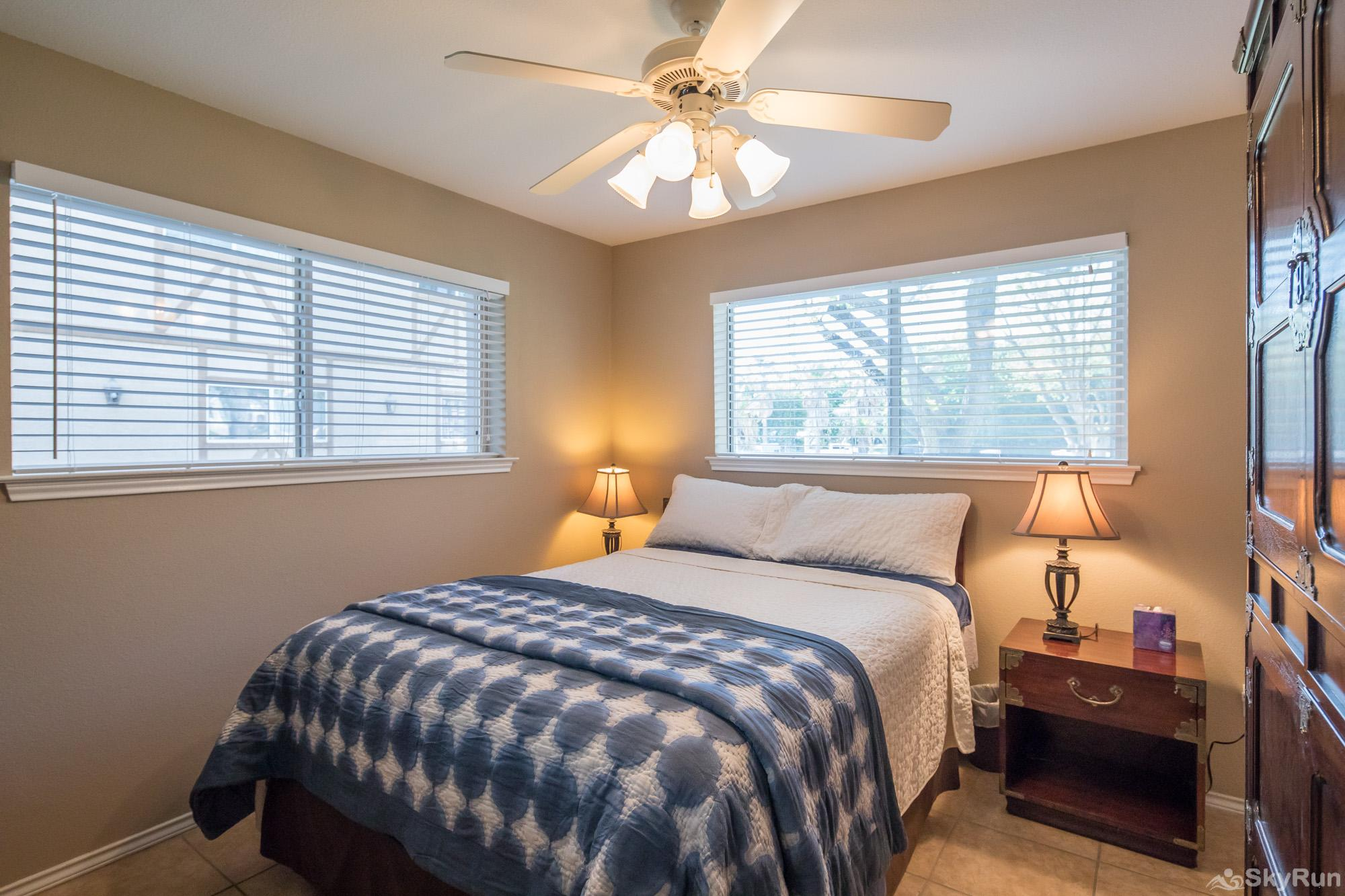 WATERWHEEL ESCAPE CONDO Master Bedroom with Queen Bed